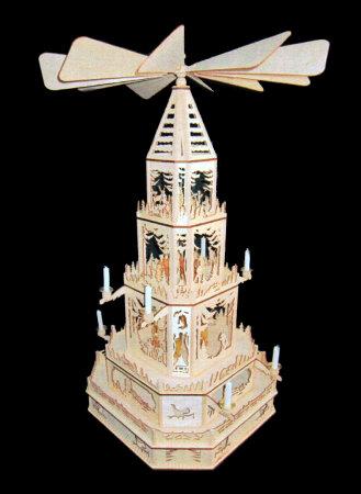 Laubsägevorlage Erzgebirgische Weihnachtspyramide...