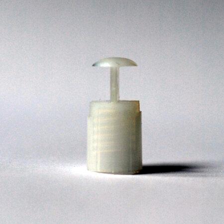 Fassung E10 Kunststoff für Plasteschaft o....