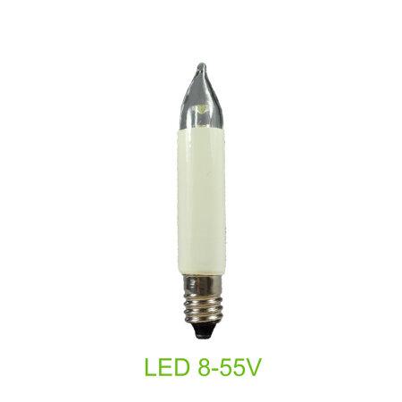Kleinschaftkerze LED 8-55 Volt für Schwibbogen...