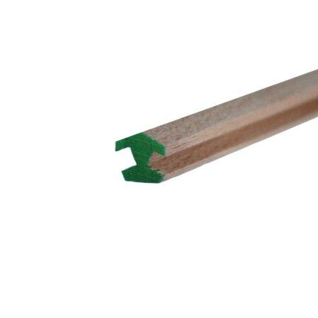 Nutleiste 4 mm Nut für 8eck Pyramide Eckleiste Buche