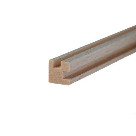 Eckleiste Nut 4 mm für 4eck Pyramide o. Leuchter