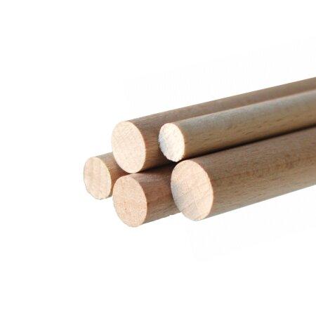 Rundstab Ø 10 mm Buche Holzrundstab 2x 500 mm...